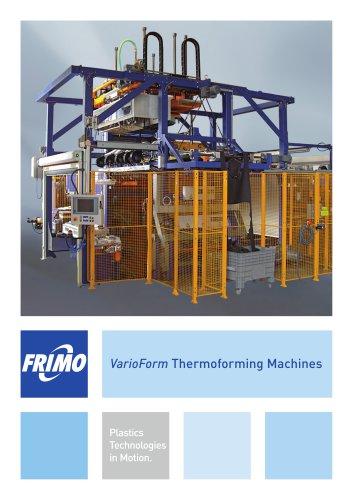 VarioForm Thermoforming Machines