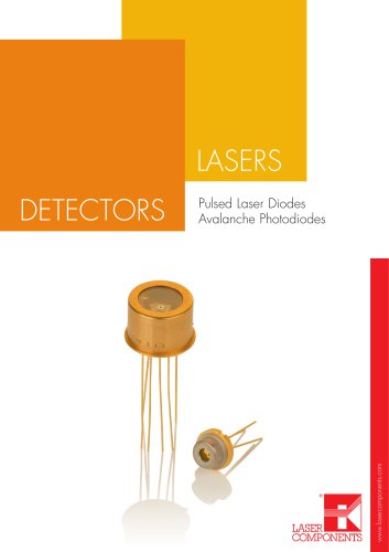 Laser Components Pulsed Laser Diodes - Avalanche Photodiodes