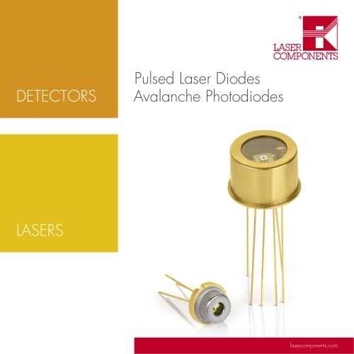 Pulsed Laser Diodes - Avalanche Photodiodes