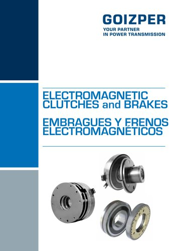 Electromagnetic Clutches and Brakes Catalogue - Goizper Industrial