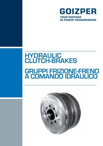 Gruppi Frizione - Freno a Comando Idraulico Catalogo