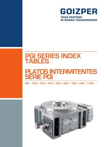 PLATOS INTERMITENTES SERIE PGI PGI - 220-1120