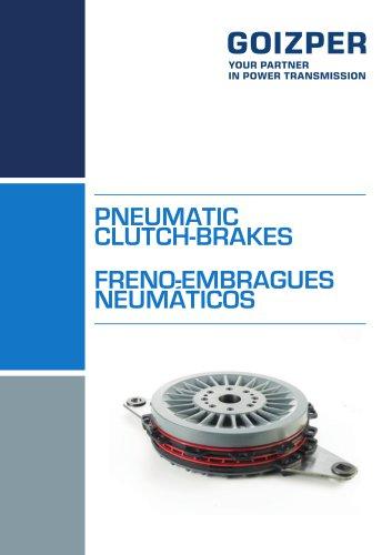 PNEUMATIC CLUTCH-BRAKES