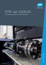 STM Jet 4200. 45 - high-pressure pump