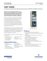 Continuous Emissions Monitoring System (CEMS) with MLT Analyzer