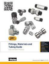 Fittings, Materials and Tubing Guide