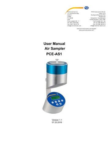 Air Sampler PCE-AS1