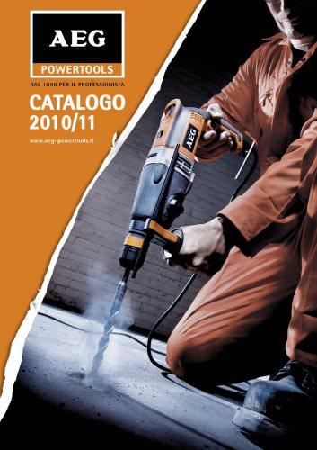 Catalogo ELETTROUTENSILI 2010/11