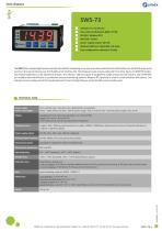 Digital indicator SWS-73 datasheet