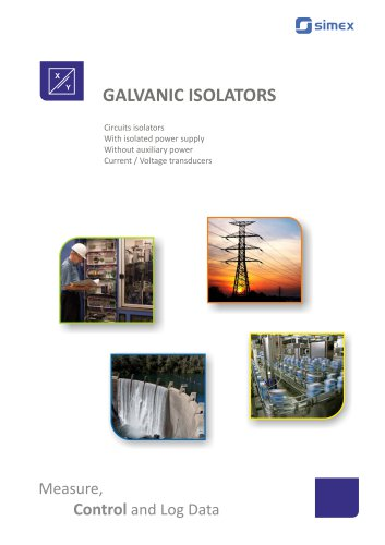 Galvanic Isolators brochure