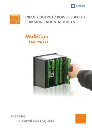 MultiCon modules catalogue v1.17.101