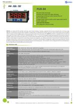 PID contoller PUR-94 datasheet