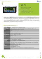 Regulated current source SZP-73 datasheet