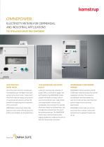 OMNIPOWER ELECTRICITY METERS FOR COMMERCIAL AND INDUSTRIAL APPLICATIONS
