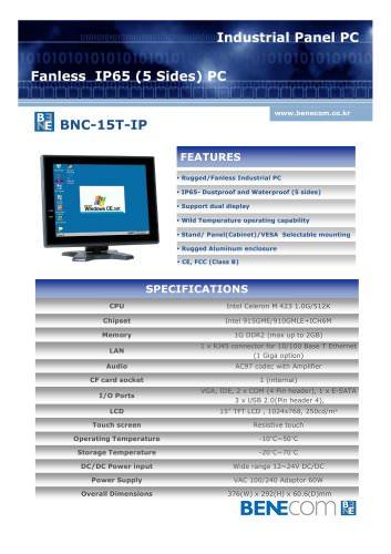 BNC-15T-IP