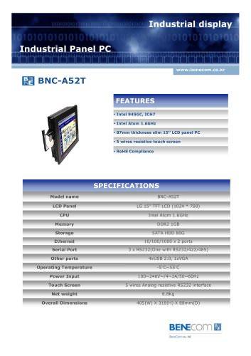 BNC-A52T