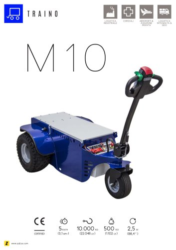 M10 Trainatore elettrico