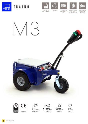 M3 trainatore elettrico