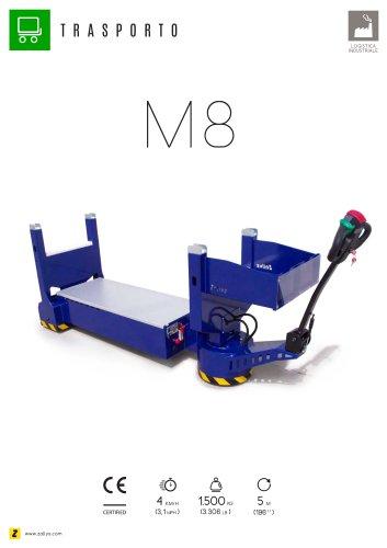 M8 veicolo trasportatore elettrico