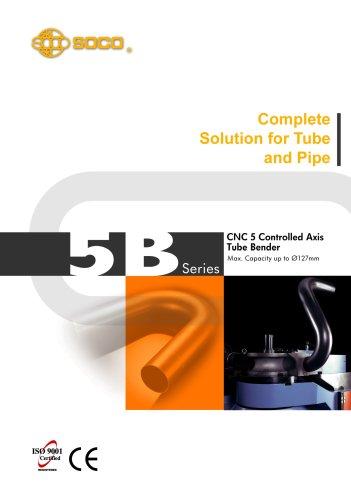 Taiwan SOCO - 5B series Powerful Pipe and Tube Benders