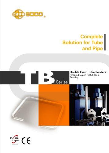 Taiwan SOCO - Double Heads Tube Bending Machines