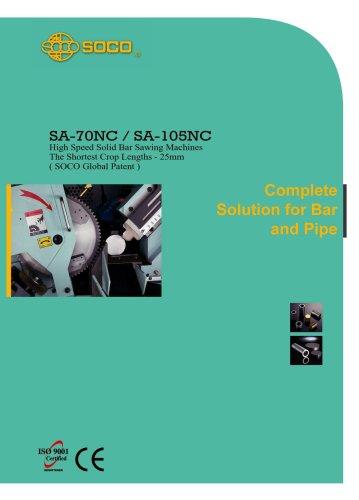 Taiwan SOCO High Speed Metal Saw Tube Cutting Machines