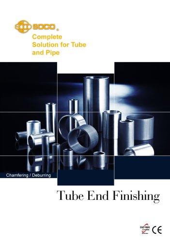 Taiwan SOCO -Tube Chamfering and Deburring Machines
