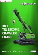 Telescopic Crane 643 Crawler - Crane Line
