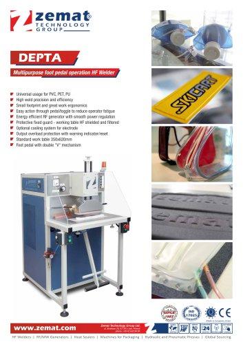 DEPTA   Multipurpose foot pedal operation HF Welder