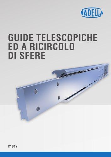 Guide Telescopiche e a ricircolo di sfere C1017