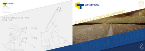 GT CRANES CATALOGUE