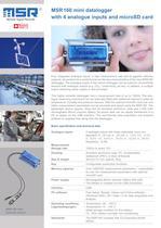 Datalogger MSR160 Datasheet