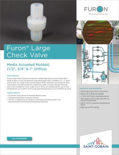 Furon® LargeCheck Valve