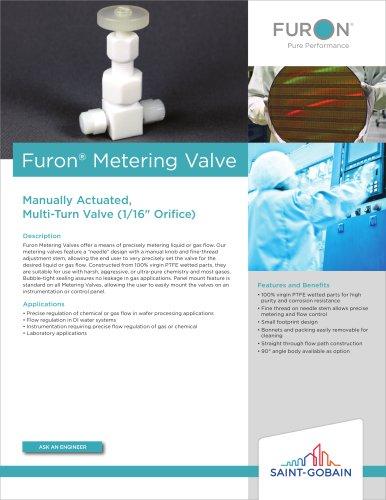 Furon® Metering Valve