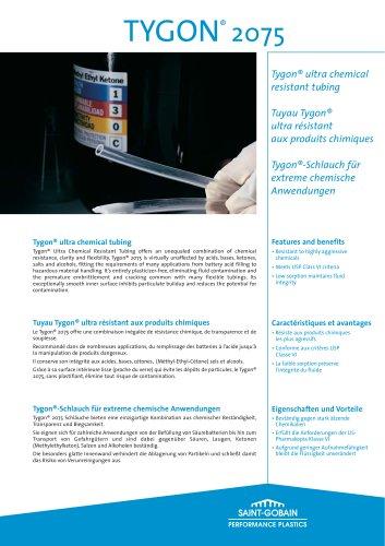 Saint-Gobain Performance Plastics - Tygon® Ultra-chemical resistant