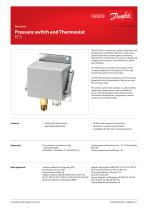 Pressure switch and Thermostat KPS