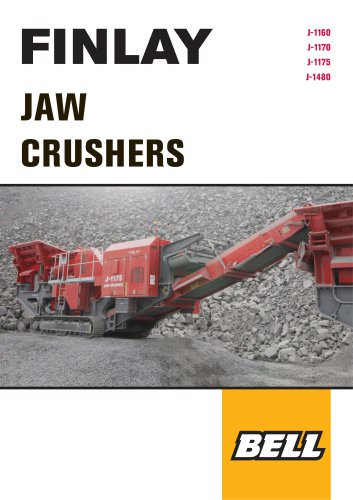 J-750 Jaw Crusher