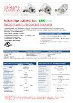 MEM40-Bus CANopen Encoder assoluto multigiro
