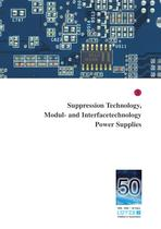 Suppression Technology, Modul- and Interfacetechnology, Power Supplies