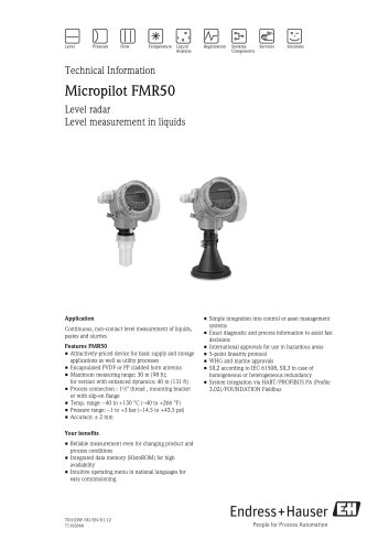 Micropilot FMR50