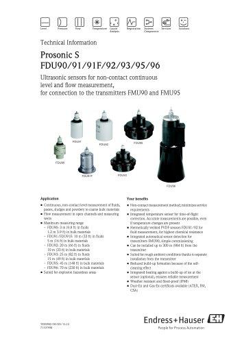 Prosonic S FDU91