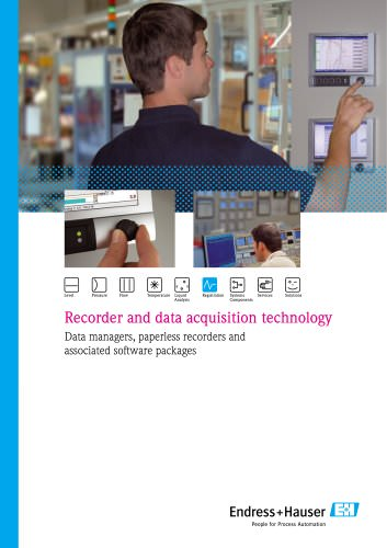 Recorder and data acquisition technology