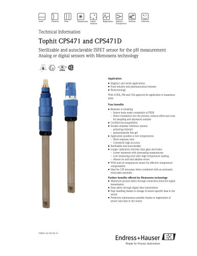 Tophit CPS471 and CPS471D