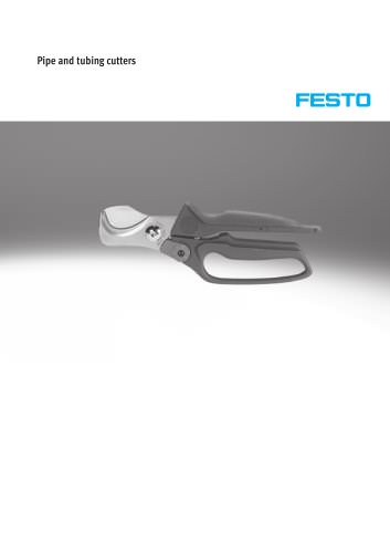Pipe and tubing cutters