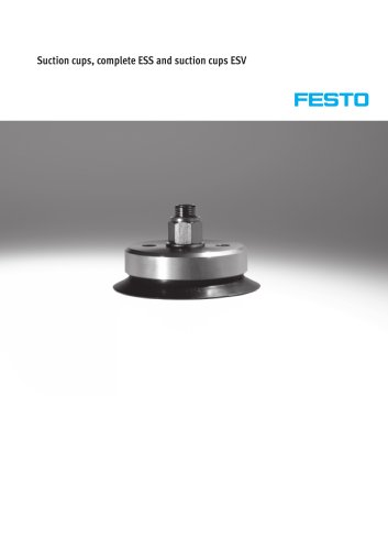 Suction cups, complete ESS and suction cups ESV