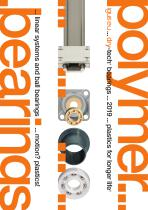 Catalogue: polymer bearings ... linear systems and ball bearings