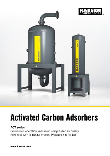 Activated carbon adsorber ACT series