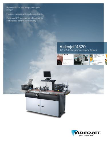Videojet 4320 Ink Jet Addressing & Imaging System