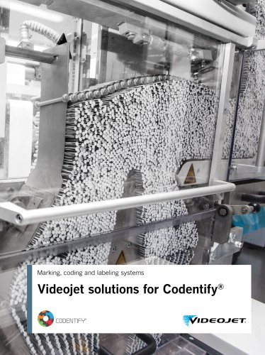 Videojet solutions for Codentify®