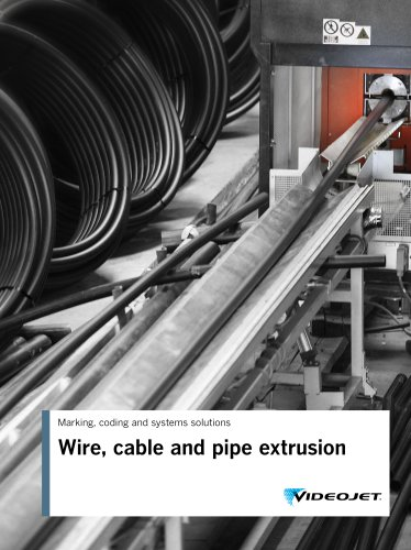 Wire, cable and pipe extrusion